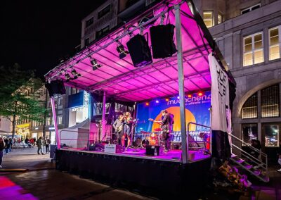 Shopping Night Bühne