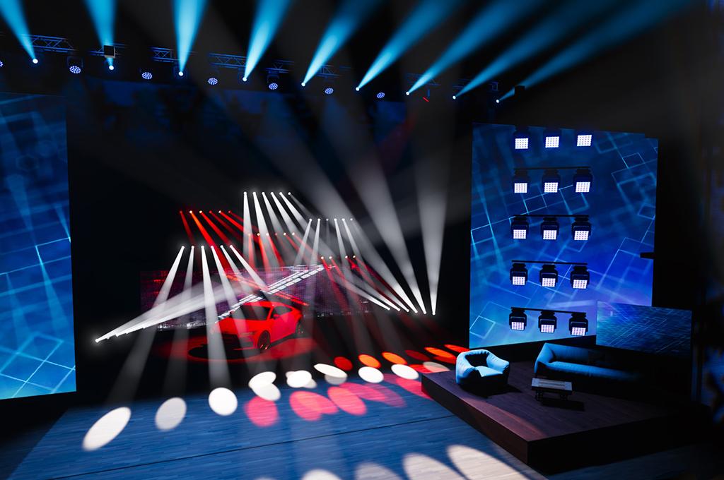 GET virtuelle Events Bühne